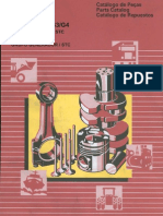 Catálogo de Peças do Motor Cummins NTA 855