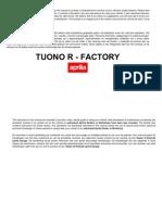 Tuono R Factory UK-NL 2006