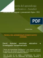 Teoría del aprendizaje significativo - Ausubel