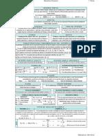 Fórmulas para el Primer Parcial de la asignatura Matemáticas Financieras I EECA UCV