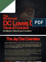 J Dilla Tribute | Information Presentation