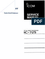Icom IC 725 Service Manual