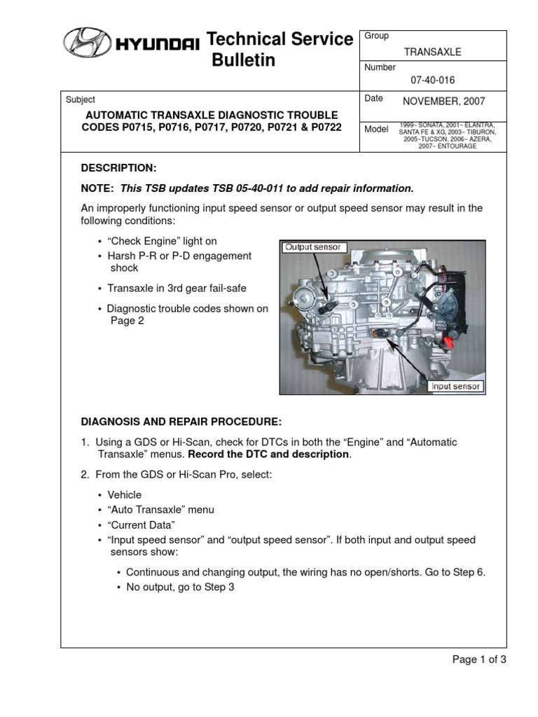 Automatic Transaxle Diag Trouble Codes   Vehicles   Electrical Engineering