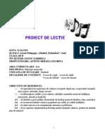proiect lectie finala muzică