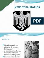 Movimientos Totalitarios y Segunda Guerra Mundial