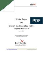 SOI-Silicon On Insulator