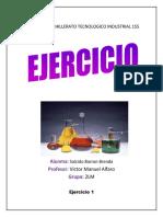 EJERCICIOS DE MOLARIDAD