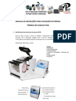 Manual Prensa Térmica PCM-80-1