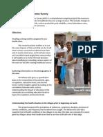 Milana Health Outcomes Survey Info Sheet