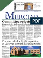 The Merciad, March 21, 2007