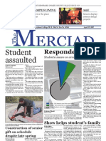 The Merciad, April 25, 2007