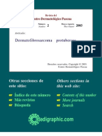 Fibrosarcoma Protuberans