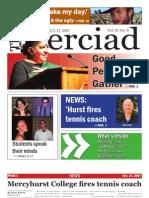 The Merciad, Oct. 17, 2007