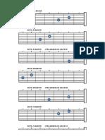 notas mandolina