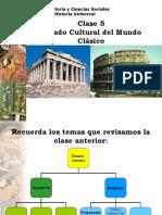 HU 5 Legado Cultural Del Mundo Clasico