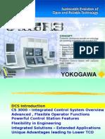 16183843 Yokogawa Centum CS3000 Overview