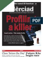 The Merciad, March 19, 2008