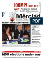 The Merciad, March 26, 2008