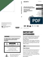 DCRDVD610(Manual Operation)
