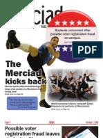 The Merciad, Oct. 1, 2008