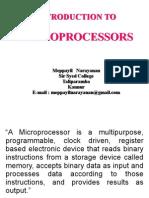 Microprocessors - Meppayil Narayanan