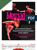 The Merciad, Feb. 4, 2009