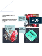 instructions on fitting KAD calipers on your Mini