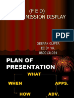 Field Emission Display