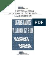 maurice druon - los reyes málditos - 6 - la flor de lis y e~1