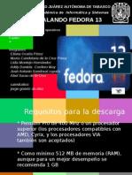 Instal an Do Fedora 13