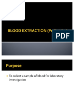 Blood Extraction Pediatrics)