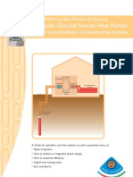 Domestic Ground Source Heat Pumps
