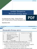 55862773 Dec2010 Lender s Perspective Renewable Energy G Krishnamurthy