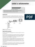 EdexcelA2SHAP Activity 15 BLDMakeandMarketaSeismometer Student Worksheet