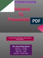 Presentation by DR. Md. Murshidul Ahsan @CVASU-2