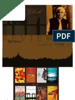 Reveiws of Amitav Ghosh%27s Books