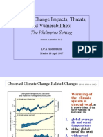 Amadore - Climate Change in the Philippines
