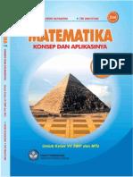 Buku Pelajaran Matematika Kelas 7