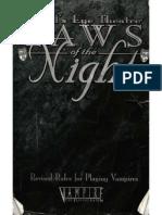 Vampire - MET - Laws of the Night (Revised) (5013)