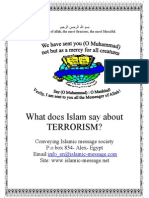 What Does Islam Say About Terrorism