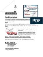 CWNA Wireless LAN Administration