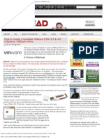 How to Create a Bootable VMware ESXi 3.5 & 4.0 (vSphere) USB Pen Drive. _ Te
