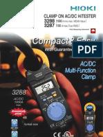 Digital AC DC Clamp Meter HIOKI 3288