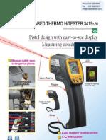 HIOKI Infrared Thermometer 3419 20