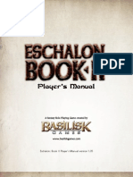 Eschalon Book II Players Manual
