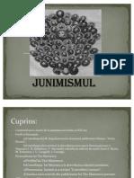proiect junimea