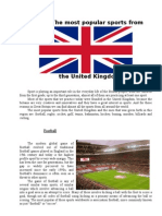 Sports in UK