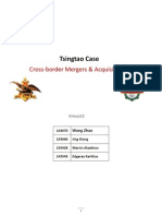 Tsingtao Case Cross-Border Mergers & Acquisitions