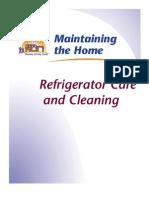 Refrigerator Care