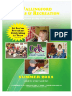 Wallingford Park & Recreation Summer 2011 Brochure